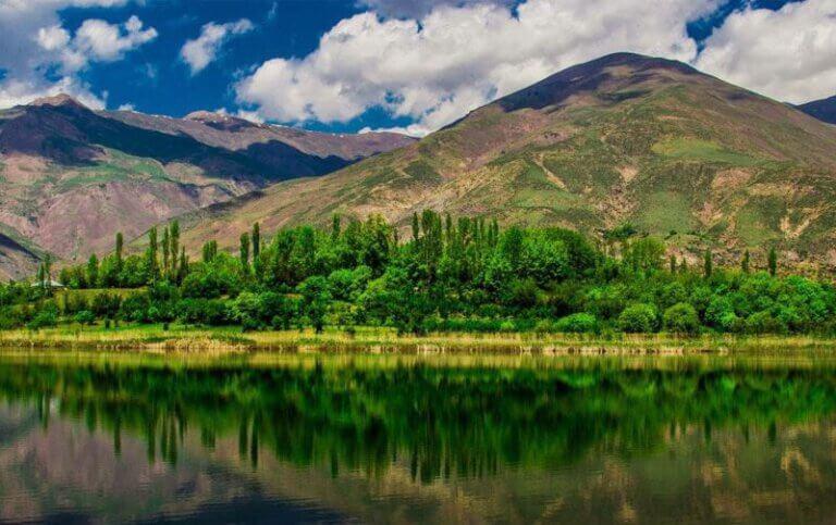 Stadt Ghazvin; Ein perfektes Reiseziel für vier Jahreszeiten